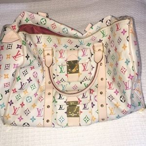 Patterned carryall bag medium size